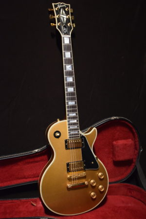 Les Paul custom 1978 all gold
